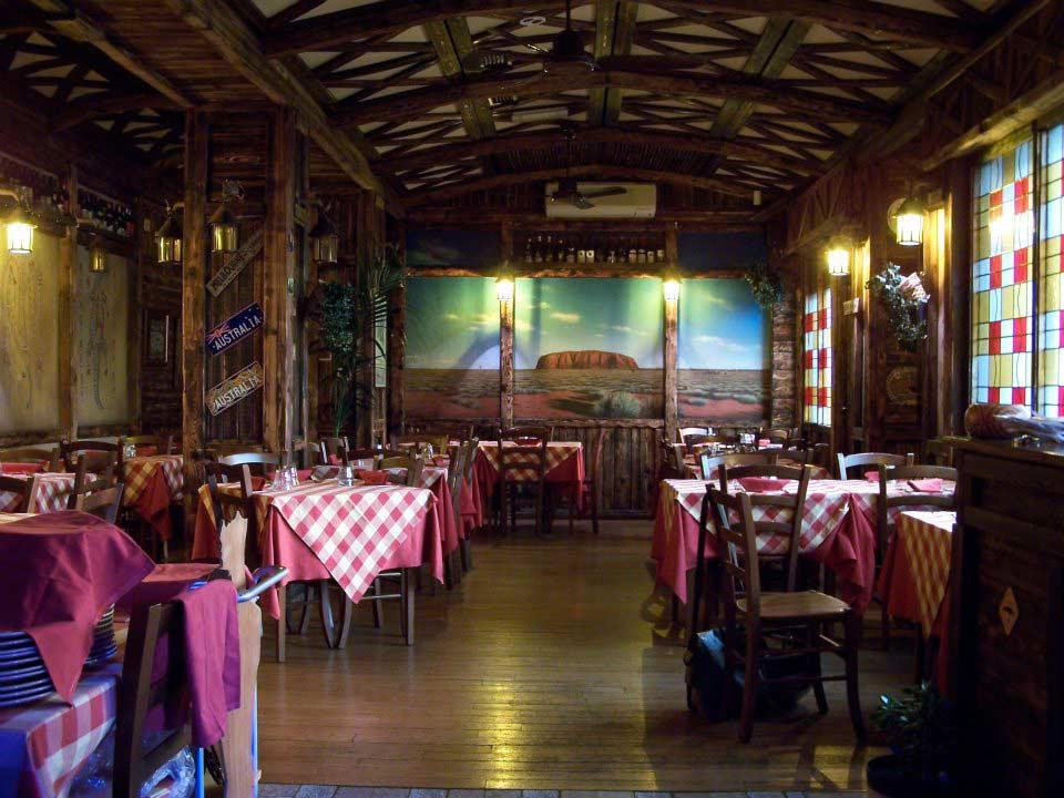 ristorante etnico interno