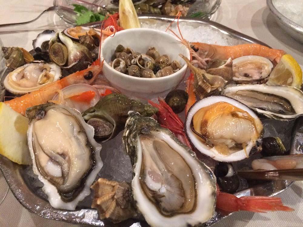 giovedì pesce fresco dal mercato ittico