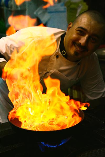 ristorante australiano chef